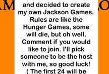 the Jackson Games / Please do not pin random pins on this board. Comment under the cabin you are competing from. Only two tributes per cabin / by Ariana Lindsey Duggen