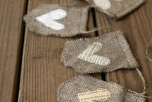 burlap ideas / by Smashed Peas and Carrots {Maggie Brereton}