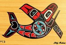 native- art / verzameling kunst. / by monique timmer