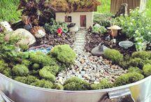 Gardening - Fairy Garden Ideas / by Patti Craven
