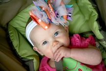 Ribbons and Bows (Cute things for the hair) / by Laura Huffer-Davis