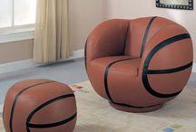 Boys Room- Basketball Theme / by Tiffany Stuckey