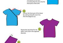 Upcycle T-Shirts / Things to make from t-shirts / by Cheri Sicard