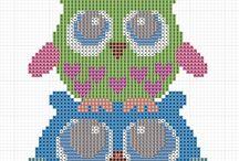 Cross Stitch: Patterns / by Nancy Tibbetts