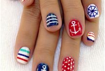 Nails nails nails! :D / Every creative nail design you can think of...goes in this section. :) / by Heather Crom