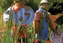 Scarecrows in the Garden / by Karen Lambert