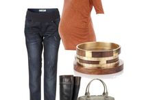 Fall/Winter maternity outfits / by Heather Blanchard