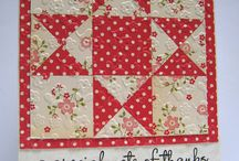 Quilted Cards / by melinda Larsen