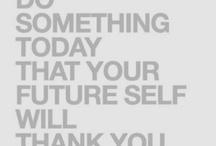Motivation is just the beginning  / by Melissa Cheek