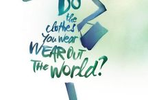 Going Green / by Stop Traffick Fashion
