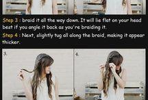 Easy Hair Tutorials / by Julia Gomez