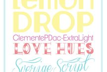 Fonts / by Patricia Lee