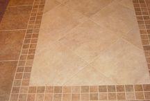 Floor tile designs / by Elinda Hardy