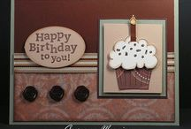 SU  - cup cake punch and stamps / by Jill Elmer