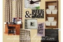 Craft Room Inspiration / by Lori Z. @ mudpiestudio.blogspot.com