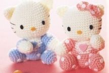 crochet and knitting / I can crochet, but find it boring enough to poke my eye out, yet for some reason still have some random urge of wanting to do it. I have NO idea how to knit, but REALLY wish I did. / by Cassee Labasan