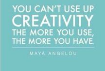 Creativity / by Carolina Muñoz