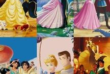 Disney- Princesses / Disney Princesses and their movies / by Alyssa Chandonnet