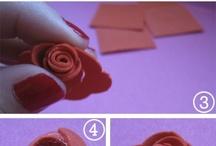 Flores / Bonitas rosas de goma EVA para regalar en Sant Jordi o cualquier otra fecha importante / by Top Fofuchas