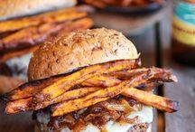 Burgers / by Elizabeth Sann Pagel