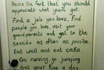 Inspirational Quotes / by Mayet Matungulu