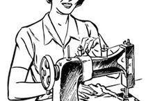 retro / vintage stuff / by Cass Can Sew