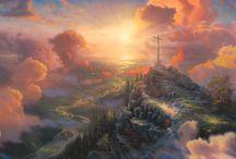 Thomas Kinkade Paintings / by Lauri Walker