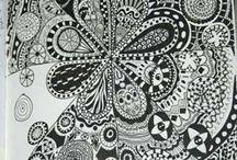 Writing and Doodles / by Sara Mulliken