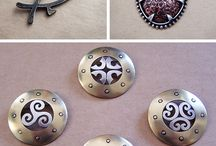 Metal work- jewelry class / by Brittany Sklute