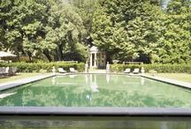 Green pool  / by Four Seasons Hotel Firenze