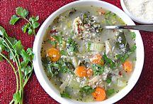 Soups / by Rebecca Redfern