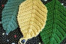 Knitting and crochet / by Terri Riffle