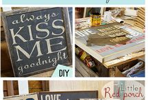 Painted Signs / by Tammy Thrasher