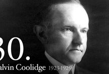 Calvin Coolidge #30 / by Sylvia Brooks
