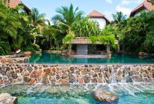 Pools & Private Beach / Experience an exclusive private beach at Baoase Luxury Resort in Curacao, an infinity pool and enjoy your own private pool when staying in one of the  Garden view villas. Paradise has a name...  / by Baoase Luxury Resort