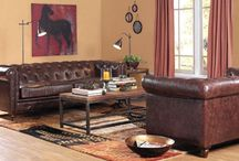 traditional living room / by Kathryn Humphreys