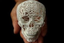 Skulls / by Ulrich Adelaïde