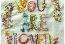 Embroidery!  / by Mariana Valeriano