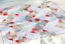 Patchwork quilts/Embroidery / by Barbe
