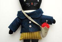 Handmade dolls / by Arien Crockett