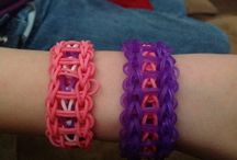 crafts: Rainbow Loom (for Ashley) / Rainbow Loom tips, tricks, tutorials, ideas and projects / by Samantha Robertson