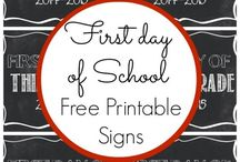 First Day of School / by Rachael Terantino