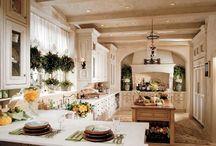 H / KITCHENS, BATHS / Layout, Design, Color Scheme, & Organization of Kitchens & Bathrooms / by Camille Winona