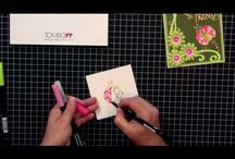 Videos You'll Like / A really creative video by Jennifer priest showing how to create 3 adorable layouts. Enjoy http://www.youtube.com/watch?v=jyLyNQpjdNY / by Tombow USA