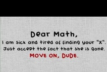 i <3 Math / by Molly Strickland