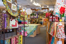 Quilt Shops We <3: South / Check out one of these quilt stores next time you're in the South. / by American Patchwork & Quilting