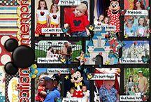 Disney Scrapbook / by Theresa Hobson