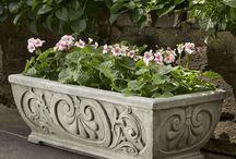 Garden Containers / by Garden-Fountains.com