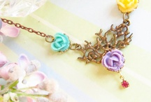 My Etsy Flower Necklaces / by Mona Abraham (4Everinstyle)