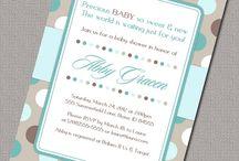 Party invites / by Renee Scheckelhoff